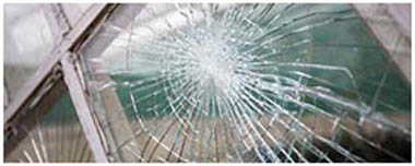 Earls Court Smashed Glass